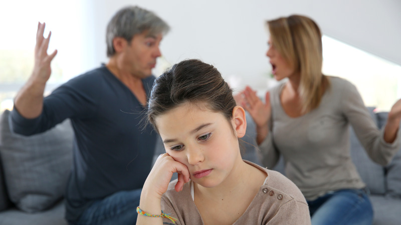 Divorce Changes in family